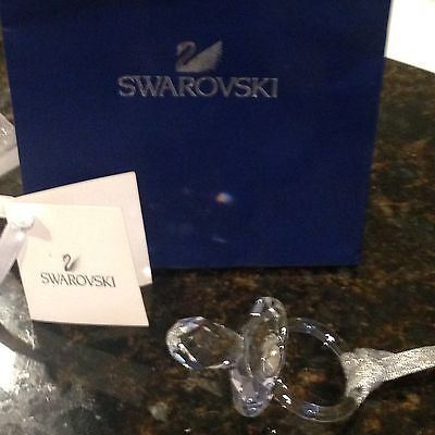 SWAROVSKI Signed ALL Crystal Baby Pacifier Very RARE No Metal All Crystal