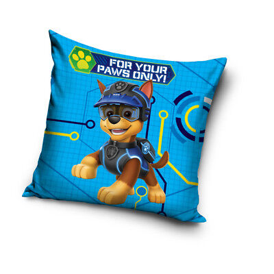 PAW PATROL Chase for your paws Pups cushion cover 40x40 cm pillow cover case dog