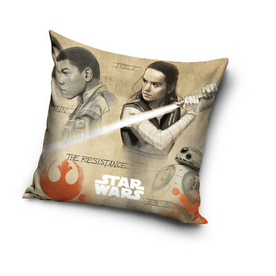 STAR WARS Rey Finn BB-8 robot cushion cover 40x40 cm pillow cover pillow case
