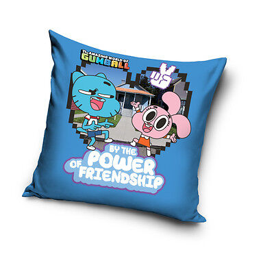 NEW THE AMAZING WORLD of GUMBALL The Cutie cushion cover 40x40cm 100% COTTON