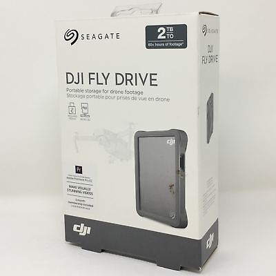 Seagate DJI Fly Drive for Drone Footage Portable Drive with Micro SD Card Slot