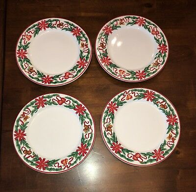 Tiffany and Co 1992 Holly Dishes  ( Total Of 8 )