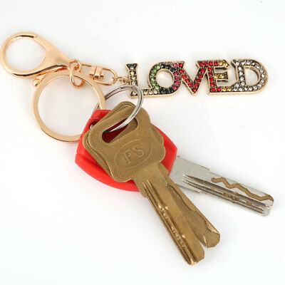 Letter Key Ring Gifts Kpop Fashion Key Buckle