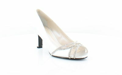 c7a212354546 CAPARROS NEW FANCY Silver Womens Shoes Size 10 M Heels MSRP  85 ...