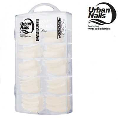 Capsules Tips Faux Ongles Mid Size Urban Nails Naturels