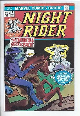 Night Rider  #5  (  Fn/vf  7.0  )   The Old West