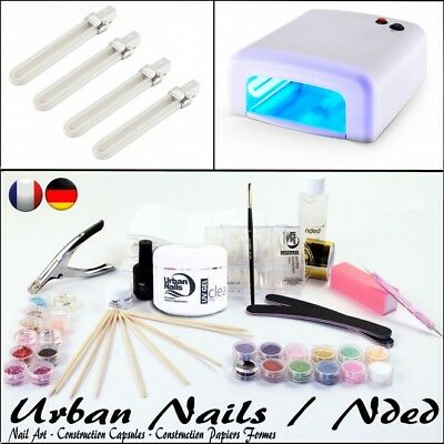 Set Manucure Nail Beauty Design Urban Nails and NDED