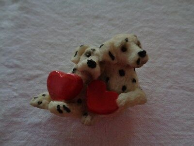 Dalmations With Hearts Magnet