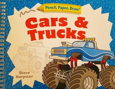 Cars and Trucks Pencil, Paper, Draw