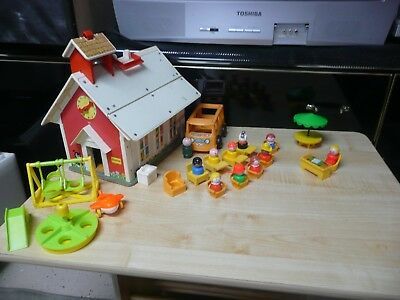 fisher price little people vintage school house