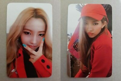 LOT of 2 (G)-IDLE G-IDLE SOYEON Official PHOTOCARD 1st Album I am LATATA 소연