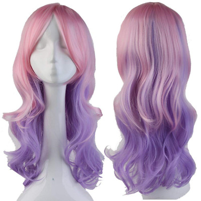 S-noilite® Women Long Curly Full Head Wig Cosplay Party Daily Fancy Dress Synthe