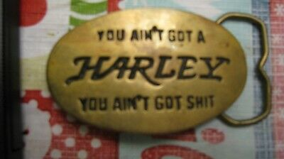 Harley Belt Buckle made out of solid brass