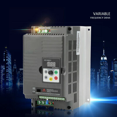 Neuf AC220V 5.5kW VFD variateur de fréquence 3-phase Adjustable-Frequency Drive