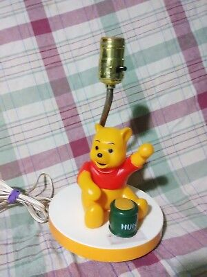 Sears Winnie The Pooh Musical Lamp Vintage Working Childs Room Decor