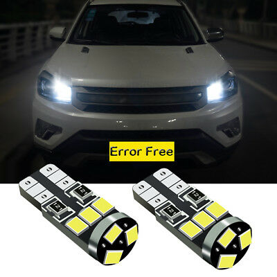 Pair Error Free LED Number License Plate Lights Lamp For BMW X5 E53 X3 E83  C7S9