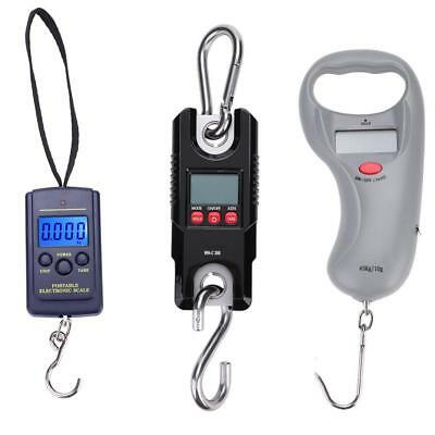 Mini  Digital Fishing Hanging Scale Luggage Scale LCD Screen Battery Power New
