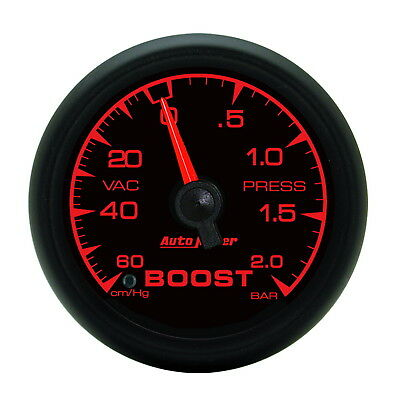 AutoMeter 5903 ES (TM) Gauge Boost/ Vacuum