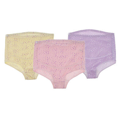 3 Pcs Soft Cotton Maternity Panties High-waist Underwear Pregnant Briefs