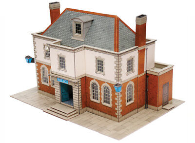 SUPERQUICK - Police Station or Library B25 - EXCELLENT MODEL OO / HO Model train
