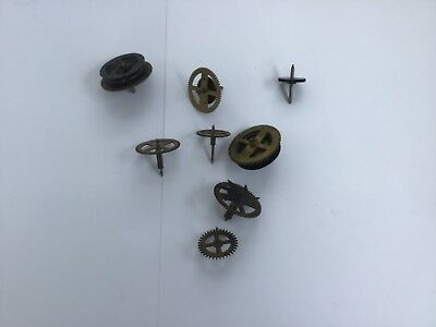 Some Old Brass Gears/ Movements For A Clock
