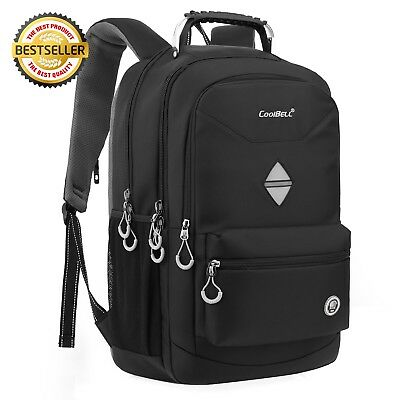 b640ac38b8b5 CoolBell 18.4 Inch Backpack Laptop Bag Travel Rucksack Water-resistant  Hiking Kn