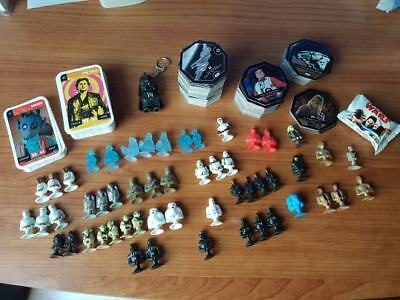 Collection Star Wars figurine micropopz carte Cosmic Shell Han Solo Leclerc