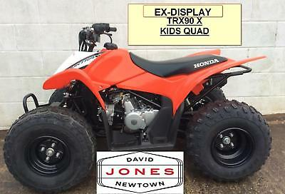 Honda Four Wheelers For Sale >> Ex Display Honda Trx90 X Sportrax 4x2 2wd Quad Bike Atv Four