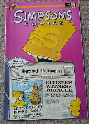 SIMPSONS COMICS # 19 (1996)   BONGO COMICS NM condition