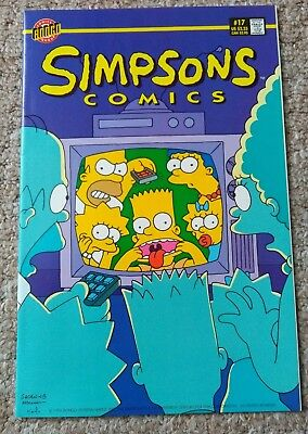 SIMPSONS COMICS # 17 (1996)   BONGO COMICS NM condition