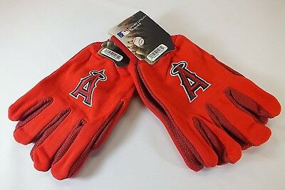 ANAHEIM ANGELS MLB ALL RED SPORT UTILITY GLOVES. McArthur. Delivery is Free