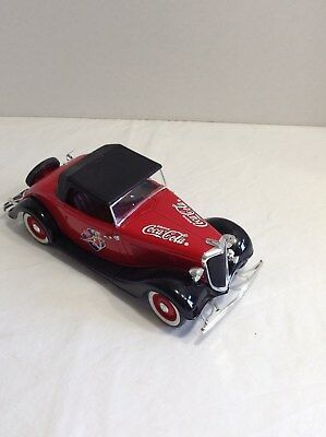 Solido 1934 Ford V8 Roadster Coca Cola 1:19 Diecast Car