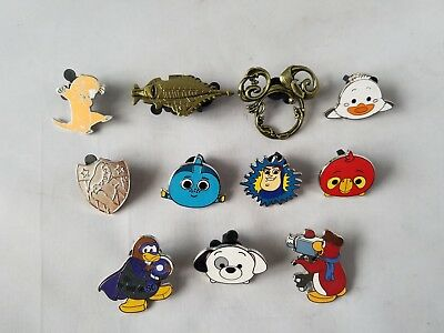 Disney Trading Pins Official Miscellaneous Assorted Collectible Lot of 11