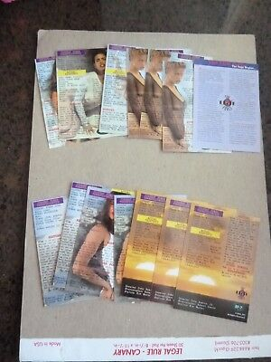 14 assorted 1994 EPG Portfolio's Secret Elite Force Swimsuit Model Chase Cards