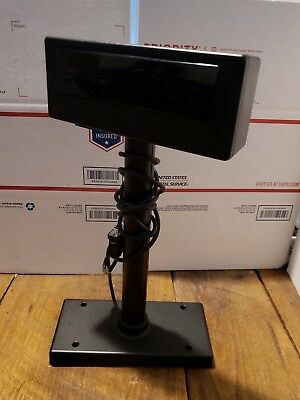 PL-200 POS Register Customer Display w/ Pole and Base Assembly