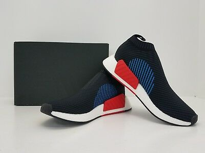 b900f545143 ADIDAS NMD_CS2 PK Nomad Primeknit Black/Red/Blue CQ2372 - BRAND NEW IN BOX!