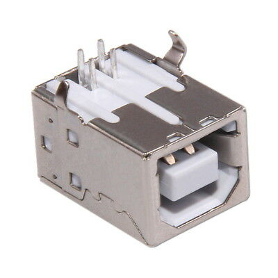 USB Type B Female 4-pin Socket SMT SMD Solder Connector Mounting Assembly