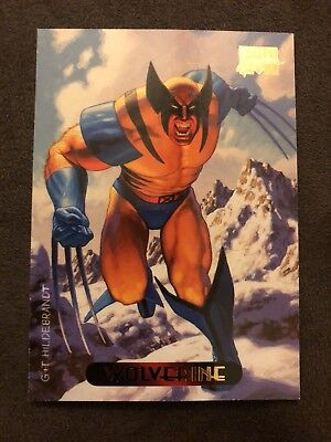 Marvel Masterpieces Fleer 1994 Card #137 Wolverine