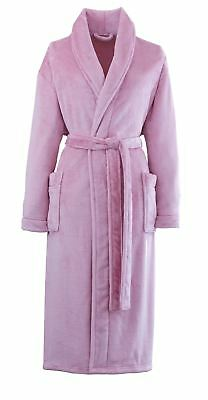 Catherine Lansfield So Soft Home Bathrobe, Pink by Catherine Lansfield