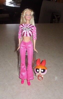 Powerpuff Girls Barbie Doll Nice Condition