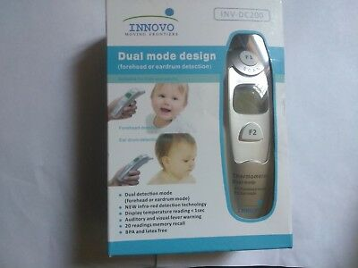 Innovo Forehead And Ear Thermometer (Dual mode design INV-DC 200)