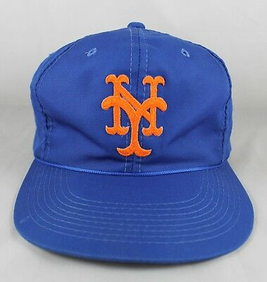 3242fe929d295 ... cheap vintage new york mets early 90s blue hat embroidered logo  snapback f1aaf 34c3b ...