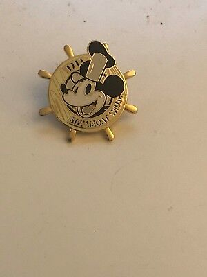 Disney Steamboat Willie Ship Wheel Pin