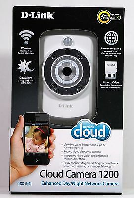 D-Link DCS-942L Record & Playback Wi-Fi Camera with Remote Viewing
