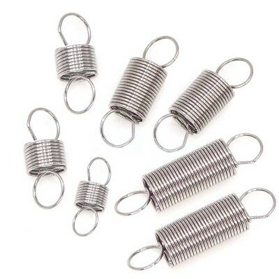 0.5mm Wire Dia. 304 Stainless Steel Extension Spring 6mm Outer Dia. 20~50mm Long
