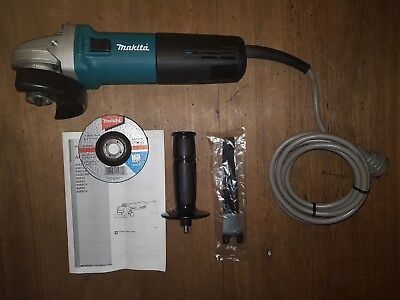 "MAKITA 9563C 1400W 4"" 100mm HIGH POWER ANGLE GRINDER - NEW + WARRANTY"