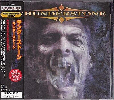 Thunderstone Selftitled Japan CD 1 Bonus Obi 2002 MICP-10310