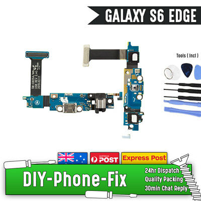Original Samsung Galaxy S6 Edge G925F Charging Port Charger Flex Mic Replacement