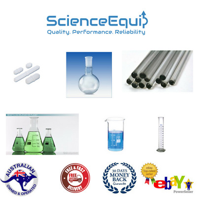 Lab Glassware Kit, Premium Borosilicate Beaker-Flask- Measuring-Stir- 6 PCS SET