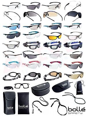 Bolle Safety Glasses Various Types - BOLLE Protection Case Pouch Adjustable Cord